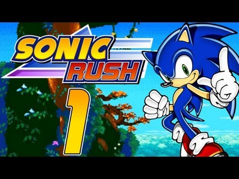 Let's Play Sonic Rush - Part 1 - Blaze und Eggman Nega tauch