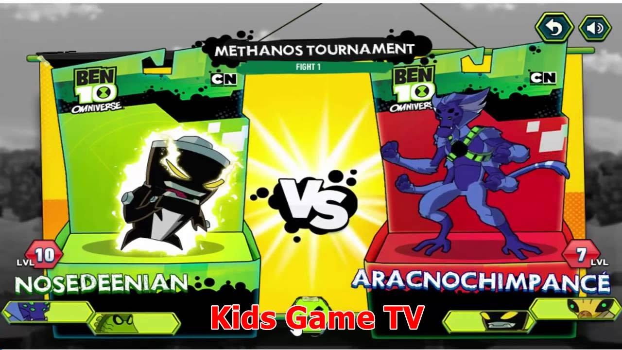 Cartoon Network Games Ben 10 Omniverse Galactic Champions ...