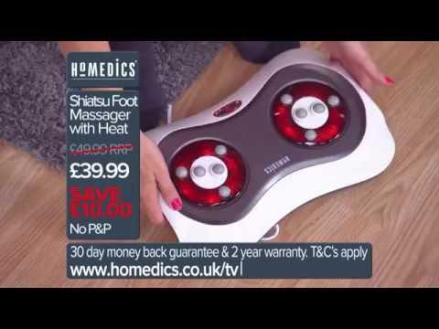 HoMedics Shiatsu Foot Massager TV