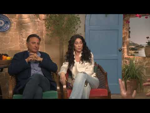 Cher and Andy Garcia Talk Mamma Mia Here we go again interview