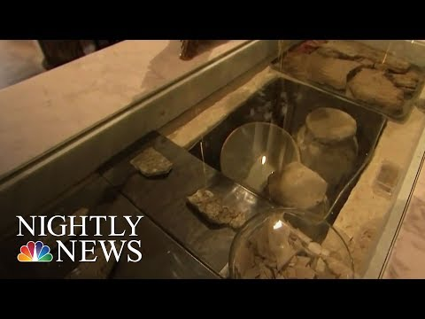 Saint Peter's Bone Fragments Possibly Discovered At Roman Church | NBC Nightly News