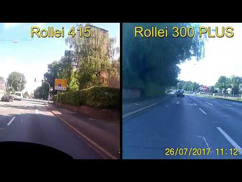 Test Video Rollei Actioncam 415 vs Rollei Actioncam 300 PLUS