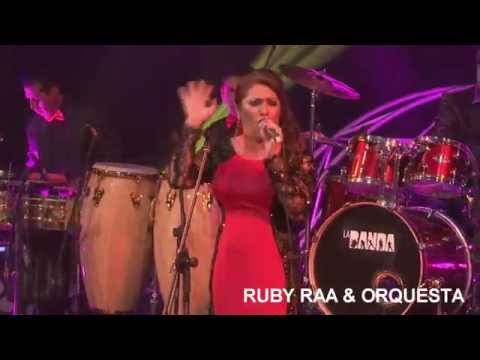 Orquesta Ruby Raá -El Triste - Salsa - Concurso La Banda (canal 2)