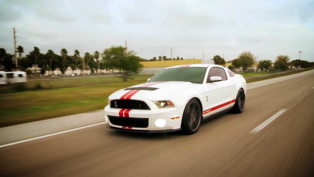 Ford mustang shelby gt500 on 20 vossen vvs cv3 concave wheels rims youtube