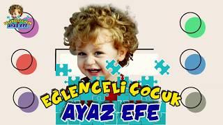 Gambar cover Eğlenceli Çocuk Ayaz Efe Turunçel İşleri nde, Mandallar ile Etkinlik