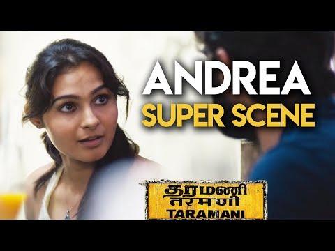 Taramani - Andrea Super Scene | Andrea Jeremiah | Vasanth Ravi | Yuvan Shankar Raja