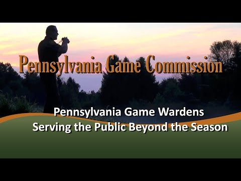 Pennsylvania Game Wardens Serving The Public Beyond The Season
