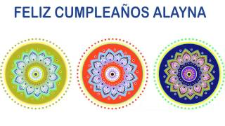 Alayna   Indian Designs - Happy Birthday