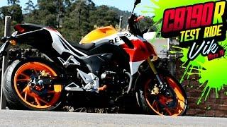 Honda CB190R Repsol 2017 review / Motovlog