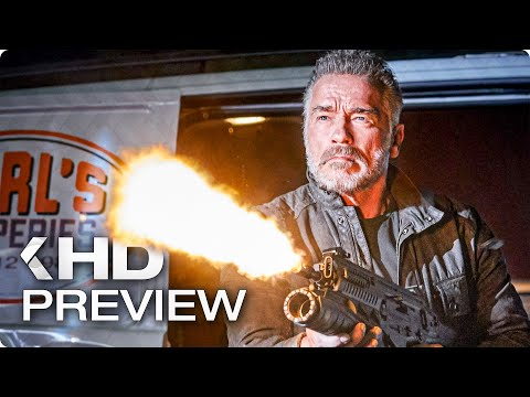 TERMINATOR 6: Dark Fate Featurette & Trailer (2019)