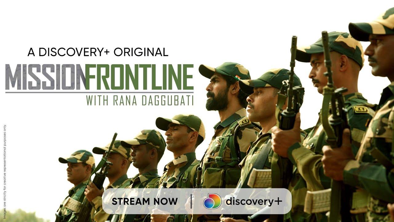 Can Rana survive BSF training? | Mission Frontline with Rana Daggubati | Discovery+ App