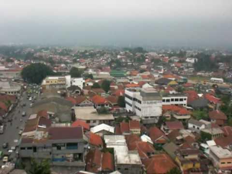 Bogor City Skyline from Bogor Trade Mall