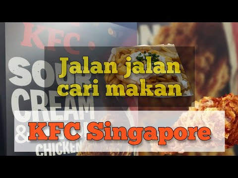 Travel in Singapore  | FUNAN MALL | KFC Singapore | Fast Food chain