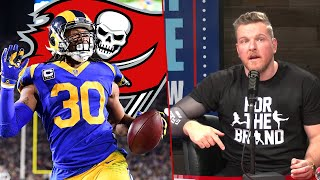 Pat McAfee Talks Todd Gurley's Future In The NFL
