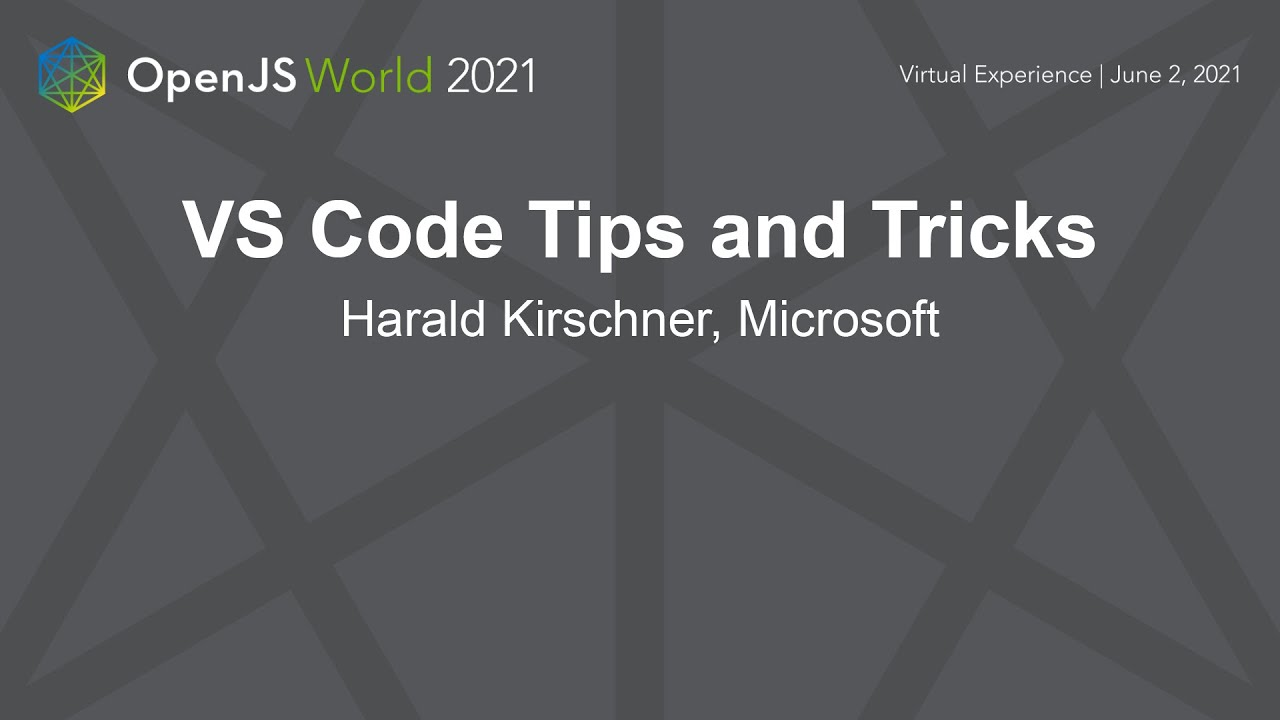 VS Code Tips and Tricks
