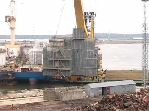 Western shipyard
