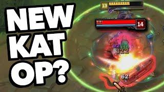How OP is REWORK KATARINA? (League of Legends)