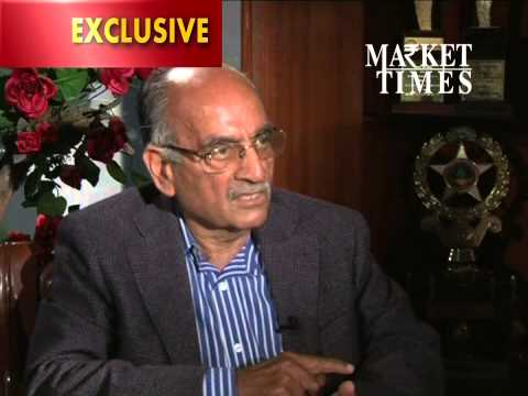 SP Oswal, Chairman Vardhman Textile Ltd., Exclusive on Market Times TV with Suresh Manchanda