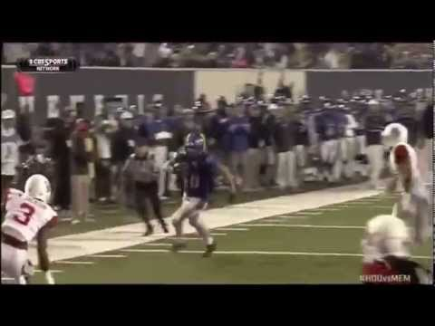 Alan Cross - Memphis Football - H-Back - 2014 Ole Miss & Houston Games