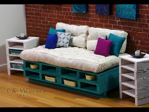 Creative Wooden Pallet Kids Furniture