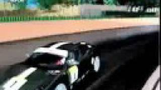 Ferrari Challenge Wii game footage
