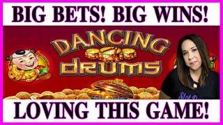 💃🏽🥁 HUGE WIN ON DANCING DRUMS 💰💪🏼SLOT HUBBY FLEXES 💪🏼