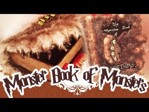 Tuto Fimo Harry Potter The Monster Book Of Monsters Polymer Clay Tutorial