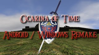 Ocarina of Time Android Remake - Google Cardboard VR test
