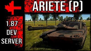 War Thunder Dev Server - Update 1.87 - Ariete (P)