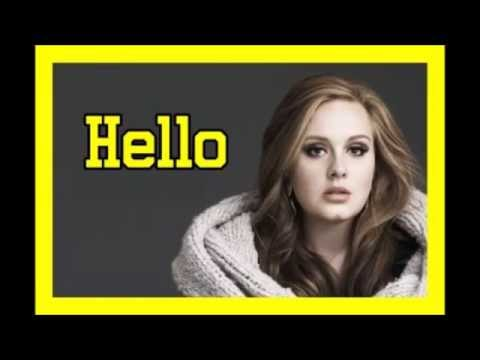 Adele- Hello  at the NRJ Awards Adele