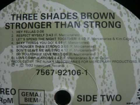 3 SHADES BROWN / LET