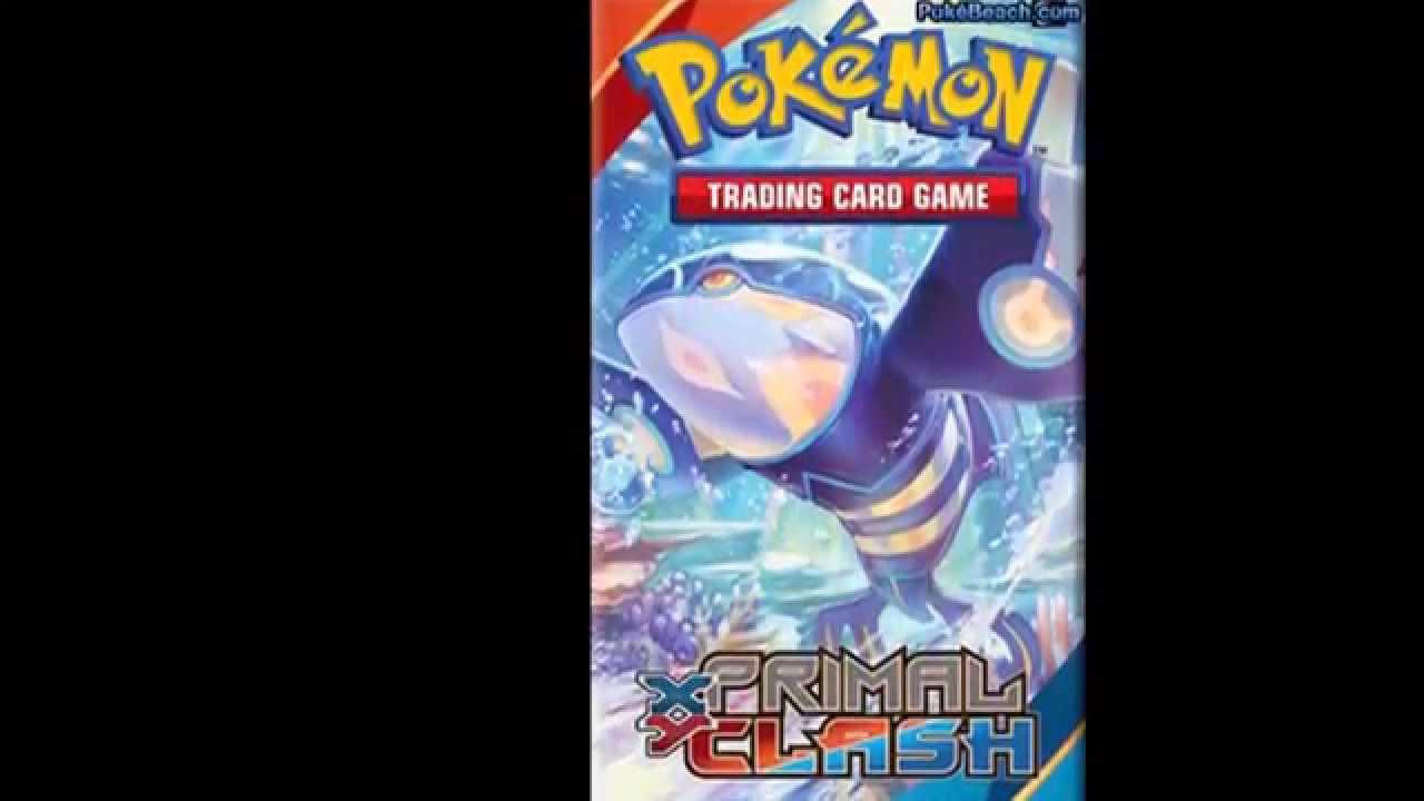 Pokemon Xy 5 Primal Clash New Mega Ex Full Art