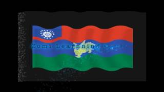 Waving Flag of States in Burma (Myanmar) created by Zomilearningcenter