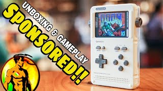 Clockwork GameShell Open Source Retro Gaming & STEM Portable Console - Unboxibg and Gameplay
