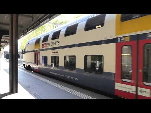 Passenger Trains in Zurich, Switzerland