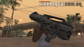 Armas do Battlefield 2042 para GTA San Andreas