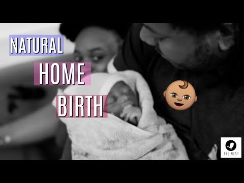 BEAUTIFUL HOME BIRTH (ALL NATURAL).