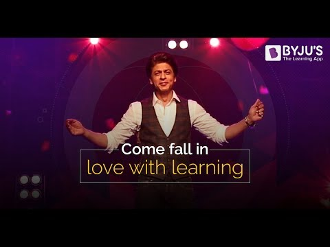 BYJU'S Math Musical featuring Shah Rukh...
