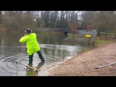 WILD TADO - Pike Fishing In Birmingham, Uk, Edgbaston Reservoir