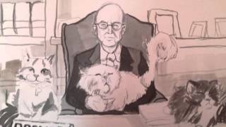 Richard Posner: A Drawing by Meghan Daley