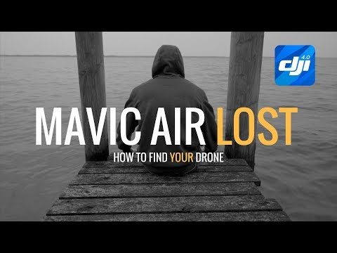 Mavic Air | How To Find My Drone