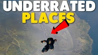 10 UNDERRATED Places To Loot In PUBG