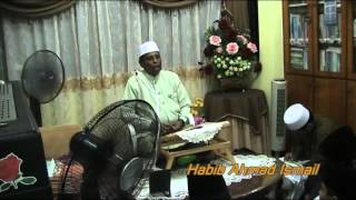 Habib Ahmad Ismail : Cara duduk tahiyat ikut Rasulullah SAW,
