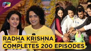 radha-krishna-completes-200-episodes-sumedh-mallika-amp-other-celebrations