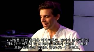 Mika mentions his emotive moment on interview (Korean Sub)