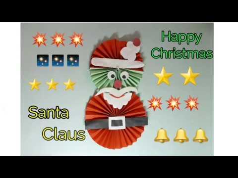 How To Make Santa Claus || origami Santa Claus || Paper Santa Claus #DIY