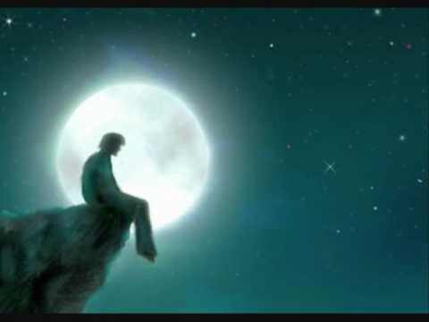 Girl Looking At Moon Wallpaper موسيقى هادئة ورحلة مع الزمان Youtube