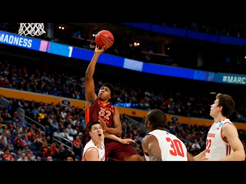 First Round: Wisconsin knocks off Virginia Tech