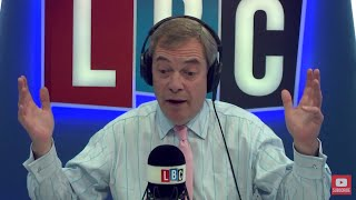 The Nigel Farage Show: Is Jacob the only Tory fighting to represent Brexit? LBC - 24th January 2018