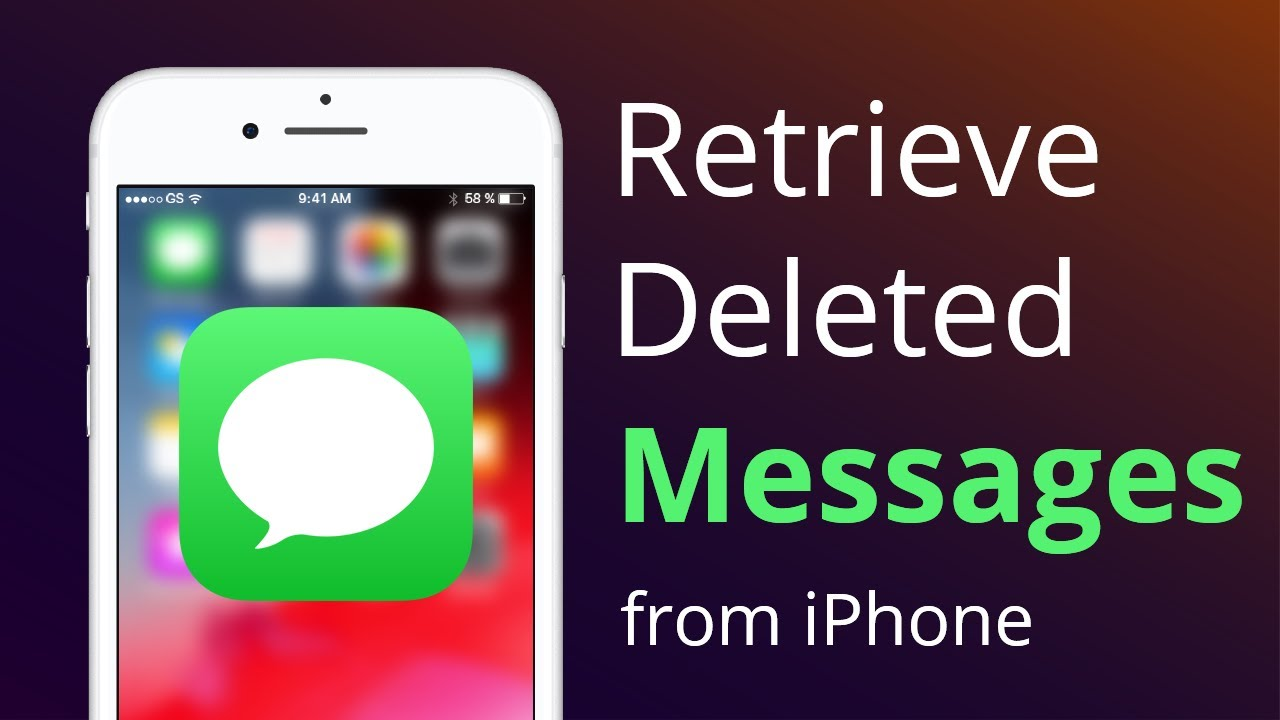 💋 how to check deleted texts on iphone